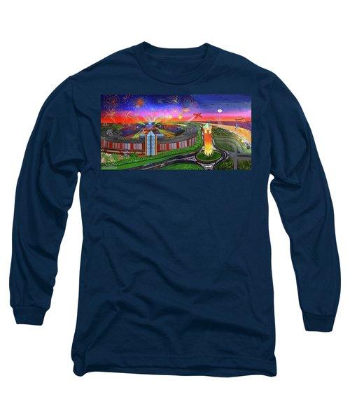 Jones Beach Theatre Towel Version Long Sleeve T-Shirt
