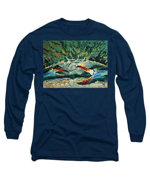 Long Sleeve T-Shirt featuring the painting Jubilee Jewel by Suzanne McKee