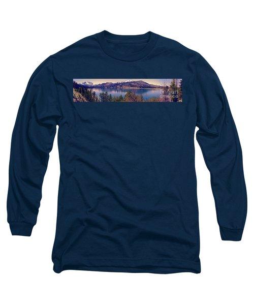 June Lake Panorama Long Sleeve T-Shirt