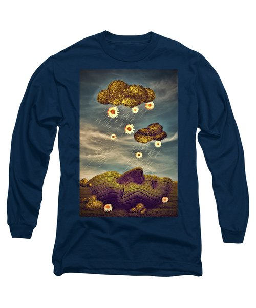 Just Another Summer Rainy Day Long Sleeve T-Shirt