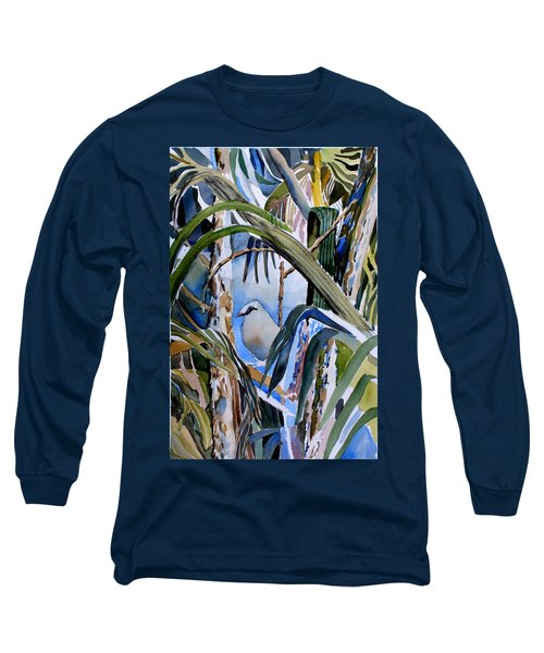Just Being Long Sleeve T-Shirt by Mindy Newman