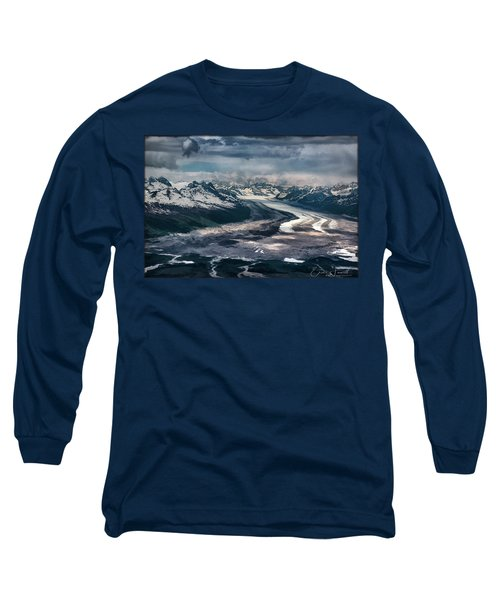 Kahiltna Glacier Long Sleeve T-Shirt