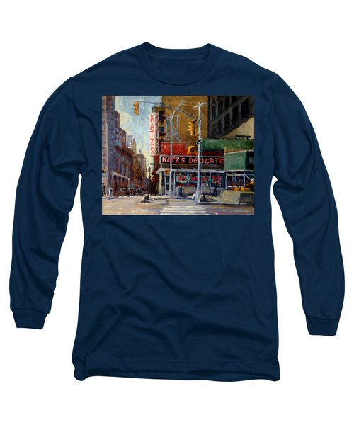 Katz's Delicatessen, New York City Long Sleeve T-Shirt