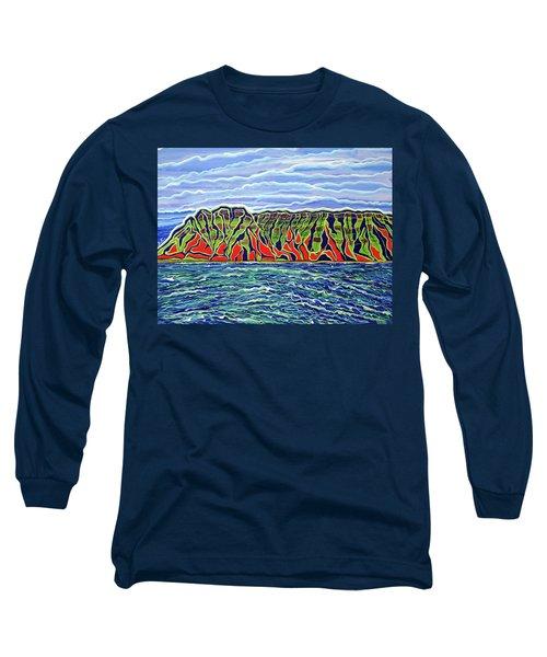 Kauai Long Sleeve T-Shirt by Debbie Chamberlin