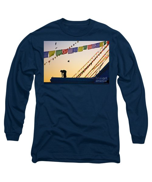 Kdu_nepal_d113 Long Sleeve T-Shirt