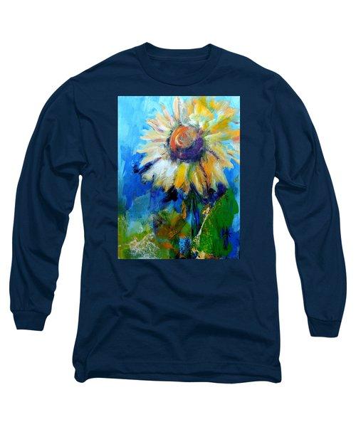 Kellie's Sunflower Long Sleeve T-Shirt