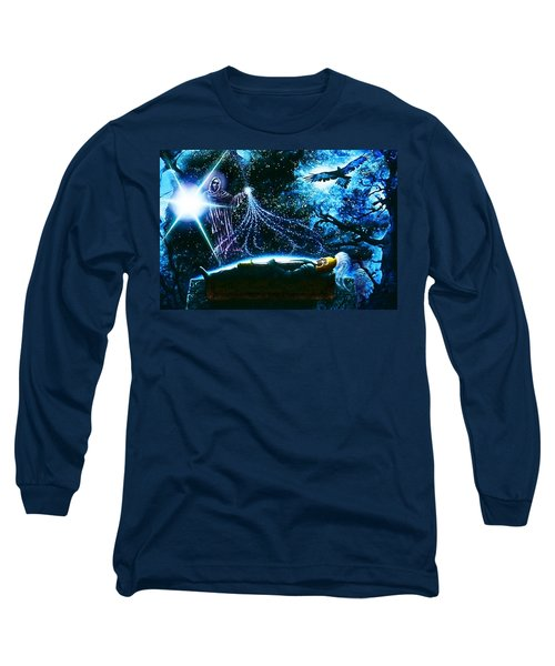 King  Arthur's Death Long Sleeve T-Shirt