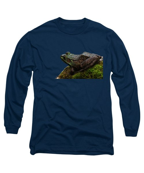King Of The Rock Long Sleeve T-Shirt by Debbie Oppermann