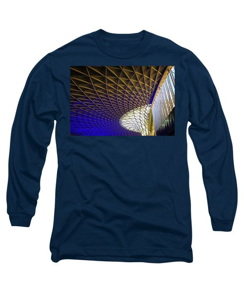Kings Cross Railway Station Roof Long Sleeve T-Shirt