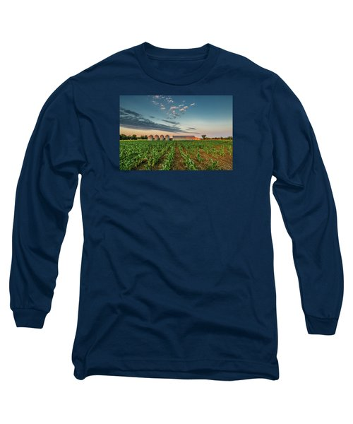 Knee High Sweet Corn Long Sleeve T-Shirt