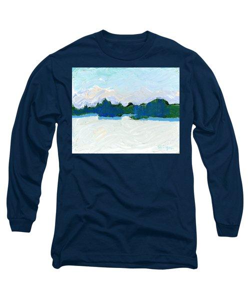 Knife Lake Long Sleeve T-Shirt by Rodger Ellingson
