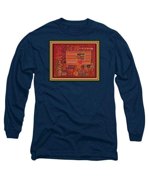 Kuna Indian Ark Long Sleeve T-Shirt