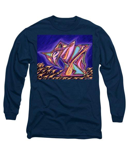 La Machine Nostradamus Long Sleeve T-Shirt by Robert SORENSEN