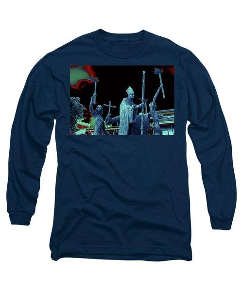 Long Sleeve T-Shirt featuring the photograph La Rogativa 2106 by Ricardo J Ruiz de Porras