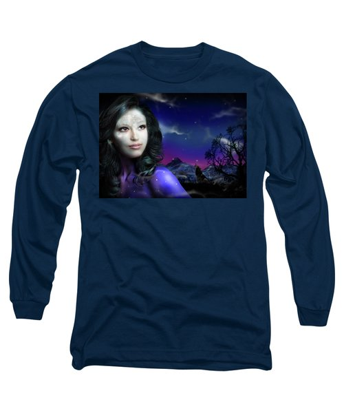Lady Moon Long Sleeve T-Shirt