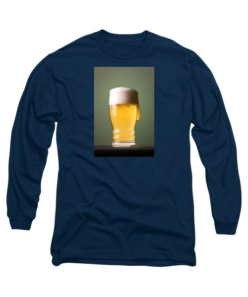 Lager Beer Long Sleeve T-Shirt by Silvia Bruno