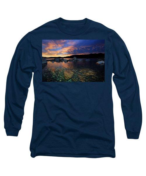 Lake Tahoe Sundown Long Sleeve T-Shirt