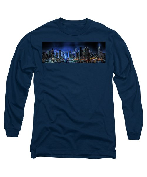 Long Sleeve T-Shirt featuring the photograph Land Of Tall Buildings by Theodore Jones
