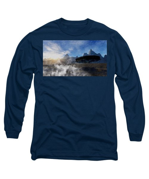 Landing Site Long Sleeve T-Shirt