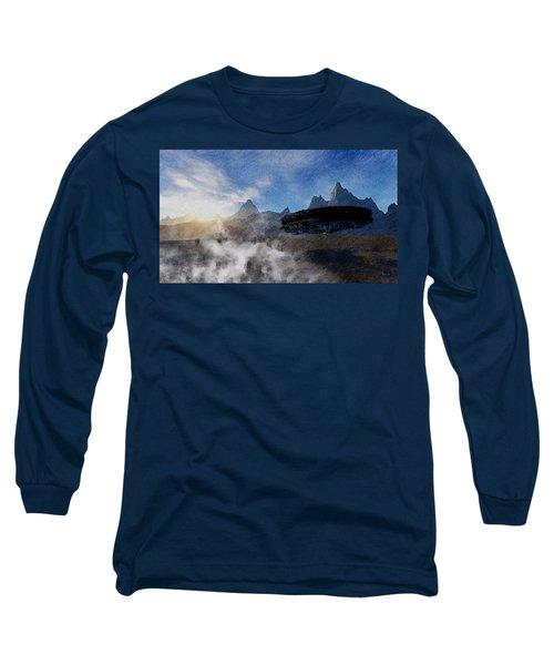 Landing Site Long Sleeve T-Shirt