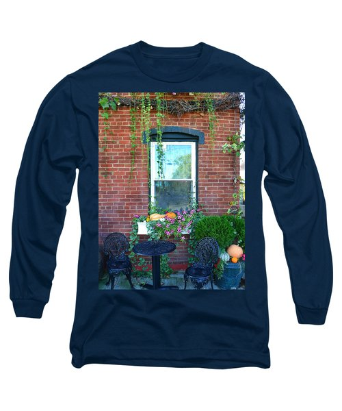 Lanier Winery Bistro Table Long Sleeve T-Shirt
