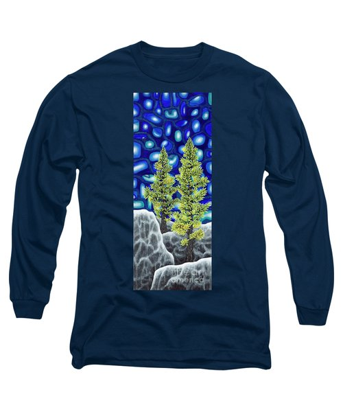 Larch Dreams 1 Long Sleeve T-Shirt by Rebecca Parker