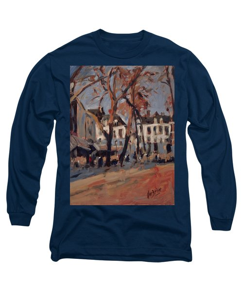 Last Sunbeams Our Lady Square Maastricht Long Sleeve T-Shirt by Nop Briex