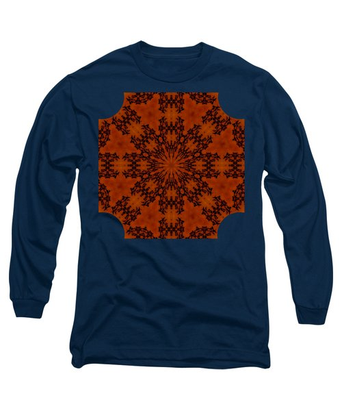 Leafy Kaleidoscope 1 Long Sleeve T-Shirt