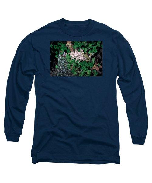 Leaves Long Sleeve T-Shirt by John Rossman