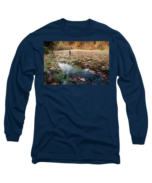 Leaves On The Lake Long Sleeve T-Shirt