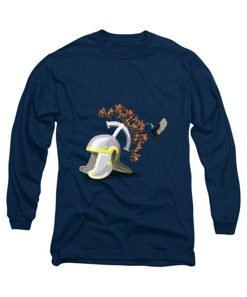 Legions Helmet Long Sleeve T-Shirt by Keshava Shukla