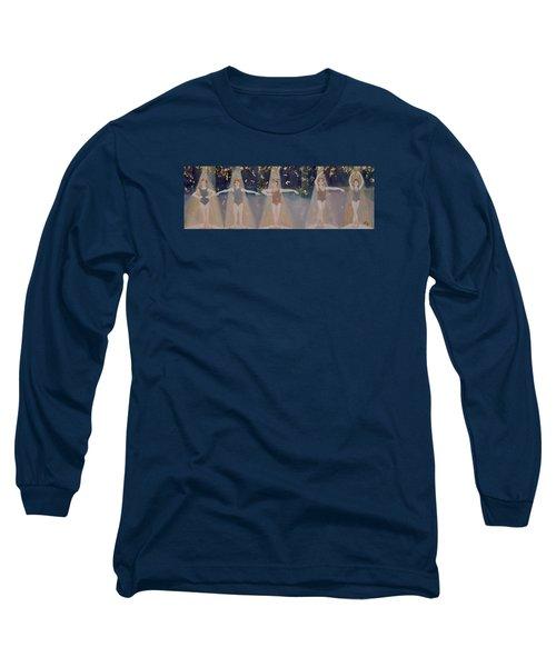Les Cinq Positions Long Sleeve T-Shirt