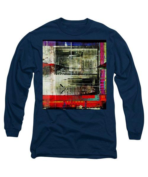 Les Lieux, Les Noms, Tous Les Indices Long Sleeve T-Shirt by Danica Radman