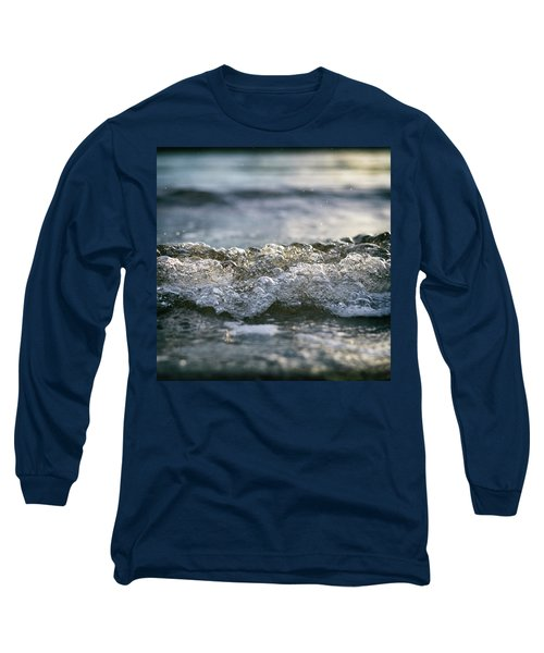 Long Sleeve T-Shirt featuring the photograph Let It Come To You by Laura Fasulo