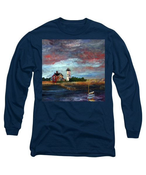 Let There Be Light Long Sleeve T-Shirt by Michael Helfen