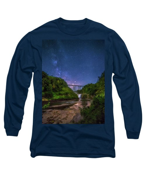 Letchworth At Night Long Sleeve T-Shirt