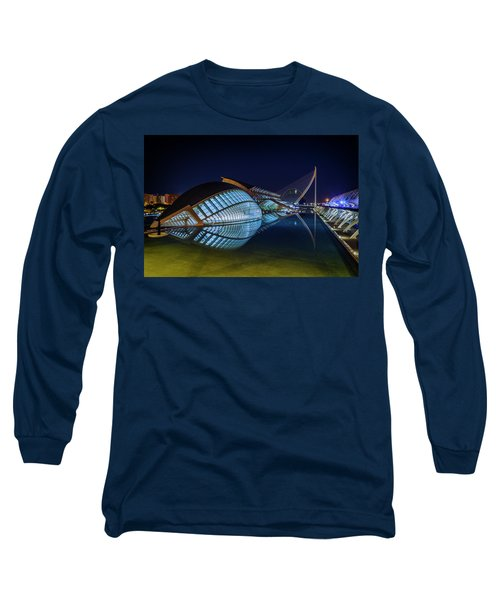 L'hemisferic In Valencia Long Sleeve T-Shirt