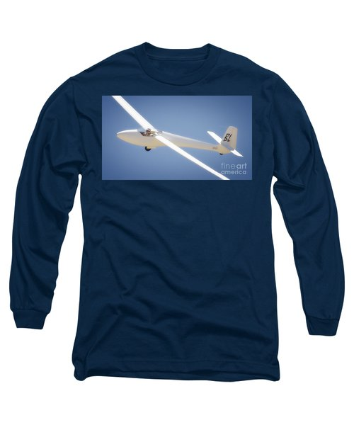 Libelle Sailplane Soaring Long Sleeve T-Shirt