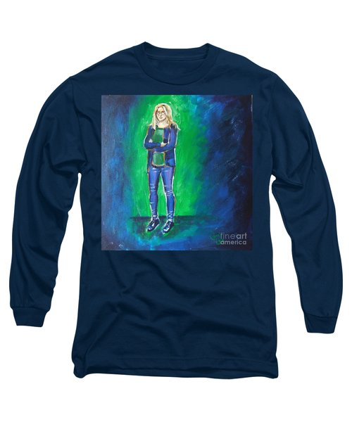 Liesbeth- Painting Class Model Long Sleeve T-Shirt