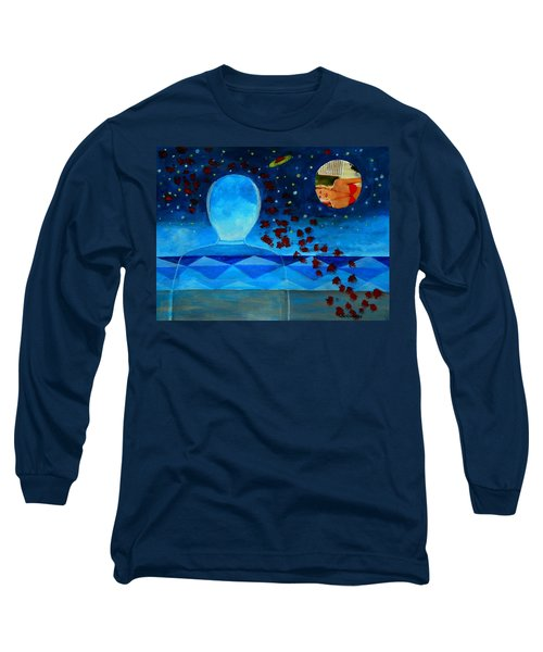 Life In Glass And Fake World Long Sleeve T-Shirt