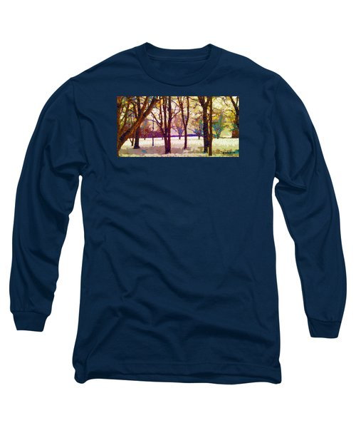 Life In The Dead Of Winter Long Sleeve T-Shirt by Gustav James