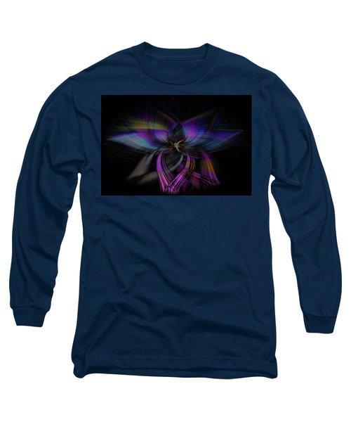 Light Abstract 4 Long Sleeve T-Shirt