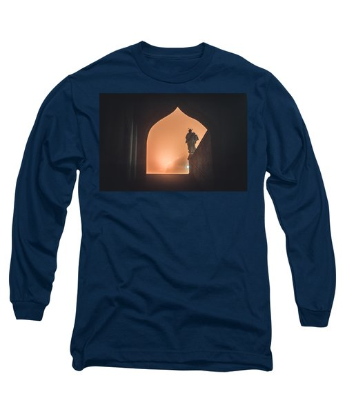 Long Sleeve T-Shirt featuring the photograph Light Of Cathedral by Jenny Rainbow