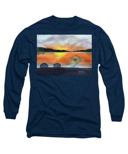 Lil Eddie's On Lake Minnetonka Long Sleeve T-Shirt