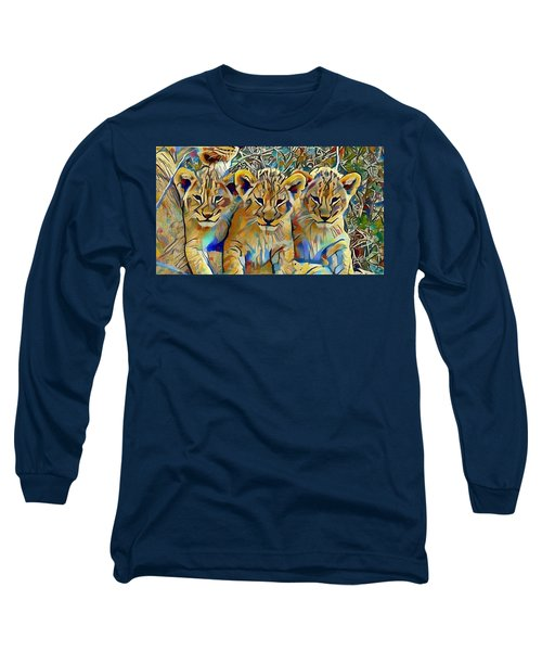 Lion Cubs Long Sleeve T-Shirt
