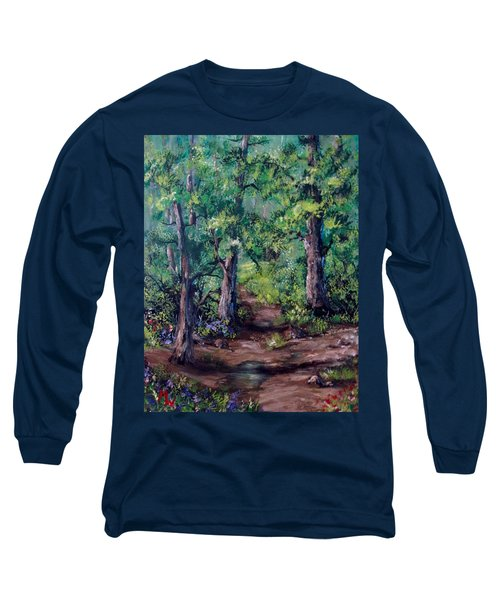 Little Clearing Long Sleeve T-Shirt by Megan Walsh