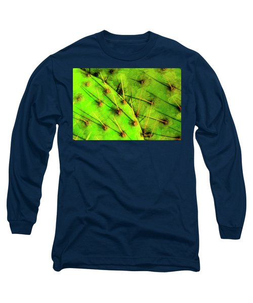 Prickly Pear Long Sleeve T-Shirt by Paul Wear