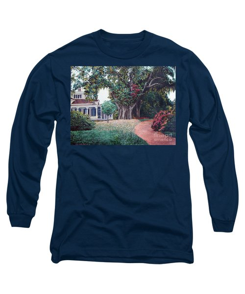 Live Oak Gardens Jefferson Island La Long Sleeve T-Shirt