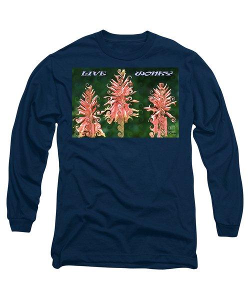 Live Wonky Long Sleeve T-Shirt