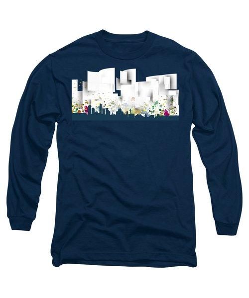 Liverpool Skyline .1 Long Sleeve T-Shirt